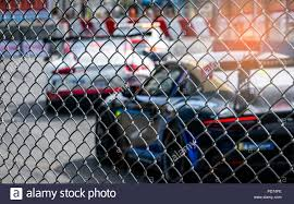 Race Track Fence High Resolution Stock Photography And Images Alamy