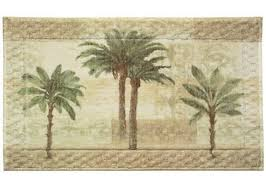 palm tree rug pictured bacova citrus