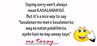 best tagalog sorry quotes com collection of quotes and