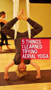 5 Things i learned trying aerial yoga | Aerial yoga, Air yoga, Tantric yoga