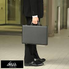 gaza made in japan leather like attache