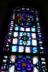 stained glass windows our lady of the