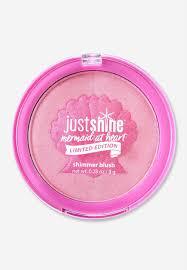 shimmer blush justice makeup