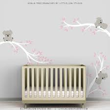 Kids Grey Pink Wall Sticker Decal Decor Baby Room Modern Etsy Baby Wall Decals Kids Room Wall Decals Baby Room Art