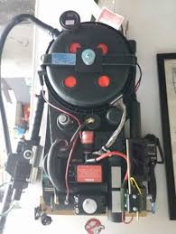 builds his own ghostbusters proton pack