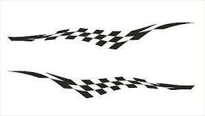 Chequered Flag A6 Vinyl Sticker Sheet Checkered Check Exterior Car Bike Decal Archives Statelegals Staradvertiser Com