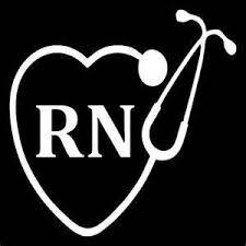 Ruki Nurse Nursing Rn Lpn Vinyl Decal Sticker White Cars Trucks Laptops Wall Art 5 5 X 5 5 Wish