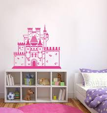 Ik382 Wall Decal Sticker Medieval Castle Princess Cinderella Fairy Tal Stickersforlife
