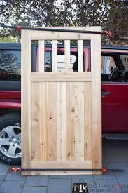 How To Make A Diy Garden Gate Free Building Plans And Tutorial