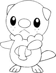 Kleurplaten Pokemon Oshawott Kleurplaten Pokemon