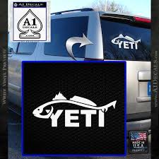 Yeti Coolers Decal Sticker Fish A1 Decals