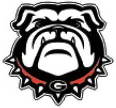 Amazon Com Craftique Georgia Bulldogs New Bulldog Decal Automotive Decals Sports Outdoors