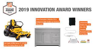 The Home Depot Announces 2019 Innovation Award Winners