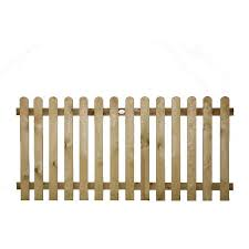 Round Top Wicket Fence Panel 3ft 900x1828mm Tfm Farm Country Superstore