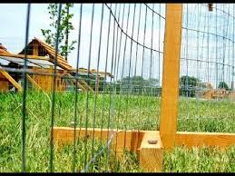Fencing Netting Made Easy Portable Chicken Fence Post Kit Youtube