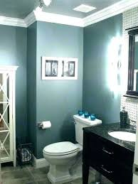 bathroom ideas color blue colors dark