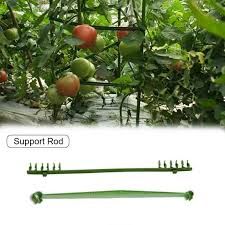 Gardening Garden Stakes Plant Canes Sturdy Plant Support Metal 10 Pcs Fencing Sticks Support Tree Canes Fence Raised Beds Support Structures Raised Beds Support Structures Garden Outdoors