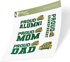 Amazon Com George Mason University Gmu Patriots Ncaa Sticker Vinyl Decal Laptop Water Bottle Car Scrapbook Family Full Sheet Arts Crafts Sewing
