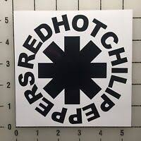 Red Hot Chili Peppers Vinyl Decal Auto Graphics Window Wall Sticker Ebay
