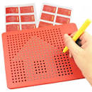 3D Children Educational Magic Drawing Board Red