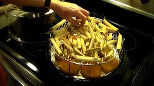 french fries in the nuwave oven you