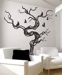 Amazon Com Stickerbrand Vinyl Wall Decal Sticker Crows Tree Gfoster172b Home Kitchen