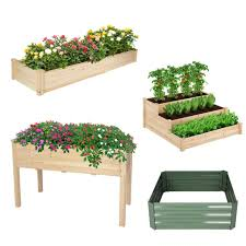 raised garden bed kit planter vegetable