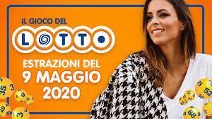Estrazioni del Lotto SuperEnalotto 10eLotto 9 maggio 2020