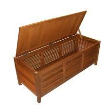 garden wood cushion storage box