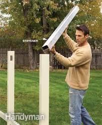 Installing A Vinyl Fence Diy Family Handyman