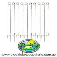 Thunderbird 5x Pigtail Tredin Post Electric Fence Australia