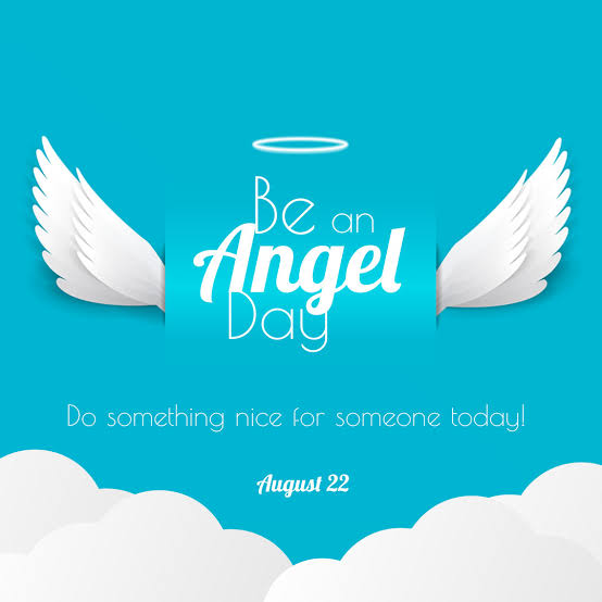 Image result for be an angel day 2019