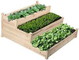 go2 3 tier raised garden bed cedar