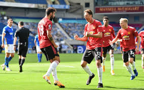 Luckless Brighton denied by woodwork five times and a 100th-minute Manchester  United penalty