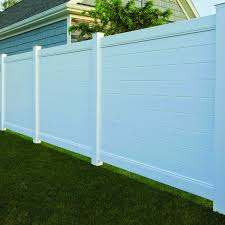Bufftech Brookline Vinyl Fence Panels Hoover Fence Co
