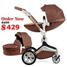 baby stroller 360 rotation function