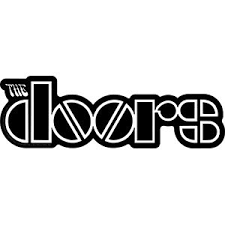 The Doors Logo Orignal Artwork Vinyl Decal Sticker 2 X 6 Walmart Com Walmart Com
