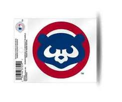 Order Clear Window Decal Chicago Cubs Stickers Decals