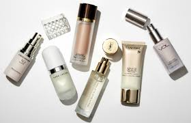 brightening face primers for dewy