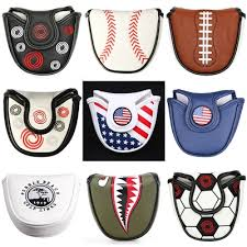 customized golf mallet putter covers