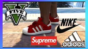 clothes nike adidas supreme gta v