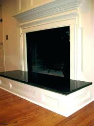 fireplace hearth slate slab covers baby