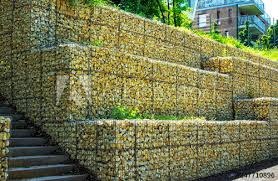 gabion retaining wall metal cages