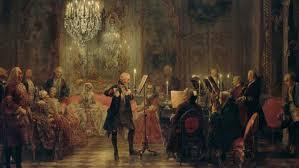 flute concert of sanssouci menzel