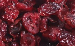 dried cranberries vs dried cherries