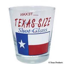 texas shot glass texas themed gift
