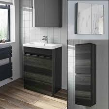 basin vanity unit mirror cabinet tall
