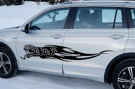 Large Snake Tribal Flames Car Body Suv Vinyl Decals Set Of 2 Left And Right Vvsdecals Suv Truck Decals Vinyl Decals