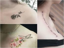 Tatuaz Na Obojczyku 30 Pomyslow Na Ciekawy Wzor Etatuator Pl