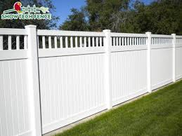 China White Cheap 6 H 8 W Privacy Garden Vinyl Pvc Fence Panels With Top Pickets China Pvc Fence Pool Fence